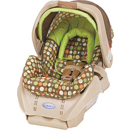 Graco SnugRide Infant Car Seat - Lively Dots