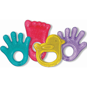 Fun Ice Chewy Teethers - Green Foot