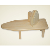 Wooden Toy Ironing Board and Iron