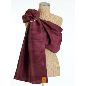 Sakura Bloom Silk Baby Sling - Luxe Collection, Rioja