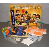 ScienceWiz Science Party for 7 in a Box 5 Experiments, Crazy Chemistry Party