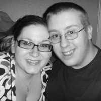 Myself and Husband. :)