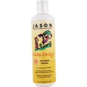 JASON Natural Cosmetics Specialty Hair Care - For Kids Only! Mild Shampoo, Chamomile & Marigold, 17.5 Ounces