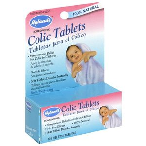 Hyland's Colic Tablets, 125 tablets (Pack of 3)