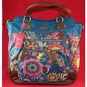 Oilily Diaper Bag - Graphic Flower series