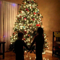 Kids infront of the tree.png