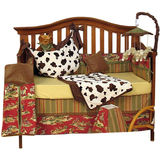 Banana Fish Buck-A-Roo 4 Piece Crib Set