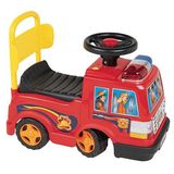 New Star Foot to Floor Sit N Ride Fire Engine in Red