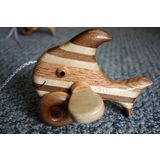 Wooden Pull Along Fish