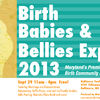 Birth, Bellies and Babies Expo is Sunday ,September 29th