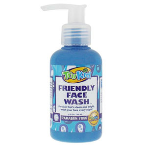 TruKid Natural Friendly Face Wash 8oz