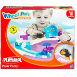 Wheel Pals Animal Tracks Playset - Polar Party