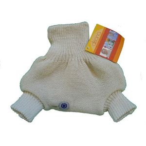 Disana Organic Merino Wool Cover-Natural-62/68 (3-6 mo)