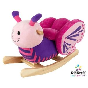 KidKraft Butterfly Plush Musical Rocker