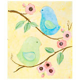 Love Birds Canvas