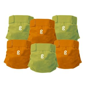 Gdiapers Everyday G's, Large, 6-Count