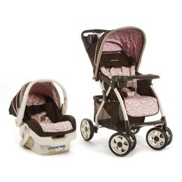 I love my Eddie Bauer Adventurer stroller and car seat