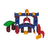 Gluckskafer Wooden Nesting Castle