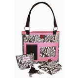 2 Red Hens Whole Roost Chocolate Covered Fabulous Diaper Bag