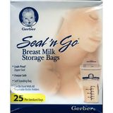 Seal N Go Breast Milk Freezer Disposable Liners - 25 / Pack