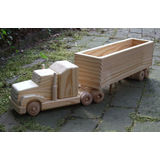 My Father's Hands Open Box Hauler w ⁄ Sleeper Cab (Wee size)
